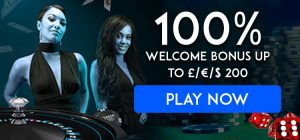 100% Up to £200 Welcome Bonuses